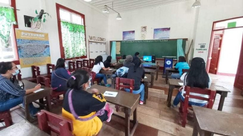 2020-09-02 PSTC Benguet donated its STARBOOKS unit to Lusod Elementary School in Lusod, Kabayan, Benguet