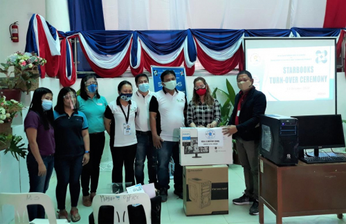 2020-10-13 Launching, Orientation and Turn-Over of STARBOOKS in Municipality of Sorsogon