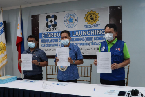 2020-11-19 STARBOOKS LAUNCHING - TESDA CNSAT (MOU Signing, Orientation and Users Hands-on Training)