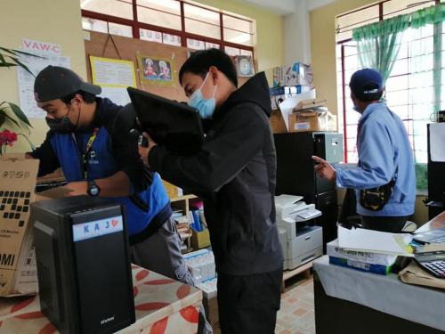 2021-01-20 STARBOOKS Orientation and Monitoring at Atok, Benguet