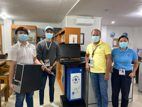 2021-01-26 DOST-IX Orientation and Installation at Western Mindanao State University Library
