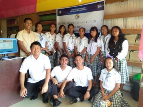 2019-01-30 DOST PSTC-Oriental Mindoro Installation and Training on STARBOOKS at Filimon M. Salcedo Sr. Mem NHS, Bansud