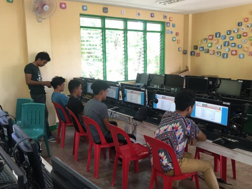 2019-03-19 DOST PSTC-Occidental Mindoro STARBOOKS installation at Iling National High School