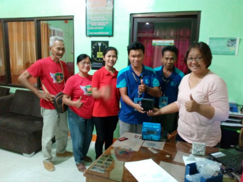 2019-03-22 DOST PSTC-Occidental Mindoro turnover of STARBOOKS to LGU of Magsaysay