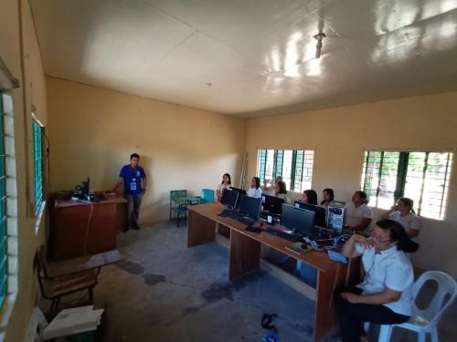 2019-06-11 DOST PSTC-Occidental Mindoro Installation of Solar Powered STARBOOKS at Guballa Elem. Sch.