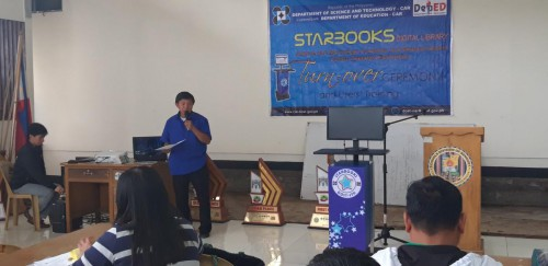 Ceremonial Turn-over, Orientation and Training of STARBOOKS at DepEd-Benguet Conference Hall