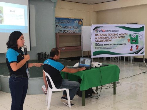 2019-11-15 DOST IX - Deployment officers introduce STARBOOKS to teachers and librarians under DepEd, Zamboanga City Division