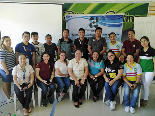 2019-11-21 DOST PSTC Davao Occidental conducted STARBOOKS Training Workshop to Elementary and Secondary Schools of Malita