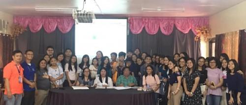 2019-12-15 DOST PSTC-Pampanga Memorandum of Understanding with ACSHi Principal Czarina David and MotherPTA President Engr. George Sorio