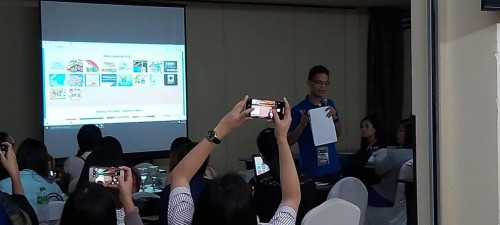 DOST PSTC-Pampanga Seminar-Orientation on STARBOOKS for the LR Coordinators of the Division of Mabalacat, DepEd, 18 December 2019