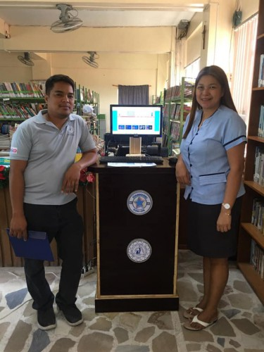 2019-12-10 DOST PSTC-Pampanga version of the STARBOOKS pod from scrap materials by Sir Noel Aquino