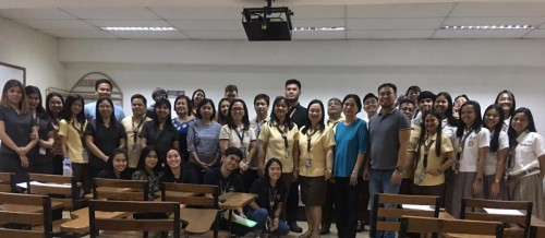 DOST PSTC-Pampanga deployed STARBOOKS at the Republic Central Colleges (RCC), Angeles City, 17 January 2020